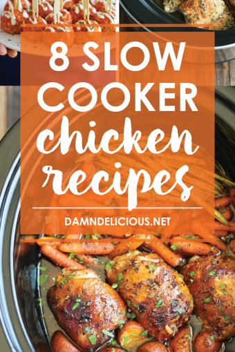 8 Slow Cooker Chicken Recipes