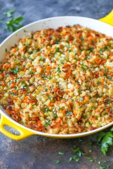 Homemade Stovetop Stuffing