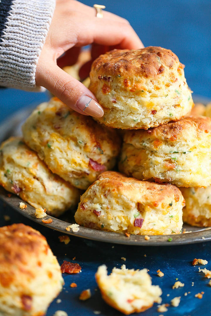 Bacon Cheddar Chive Biscuit Recipe
