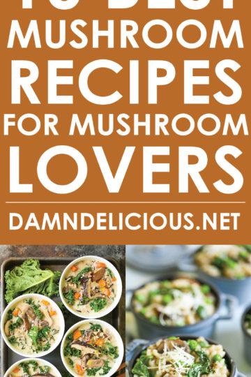 10 Best Mushroom Recipes for Mushroom Lovers - Damn Delicious