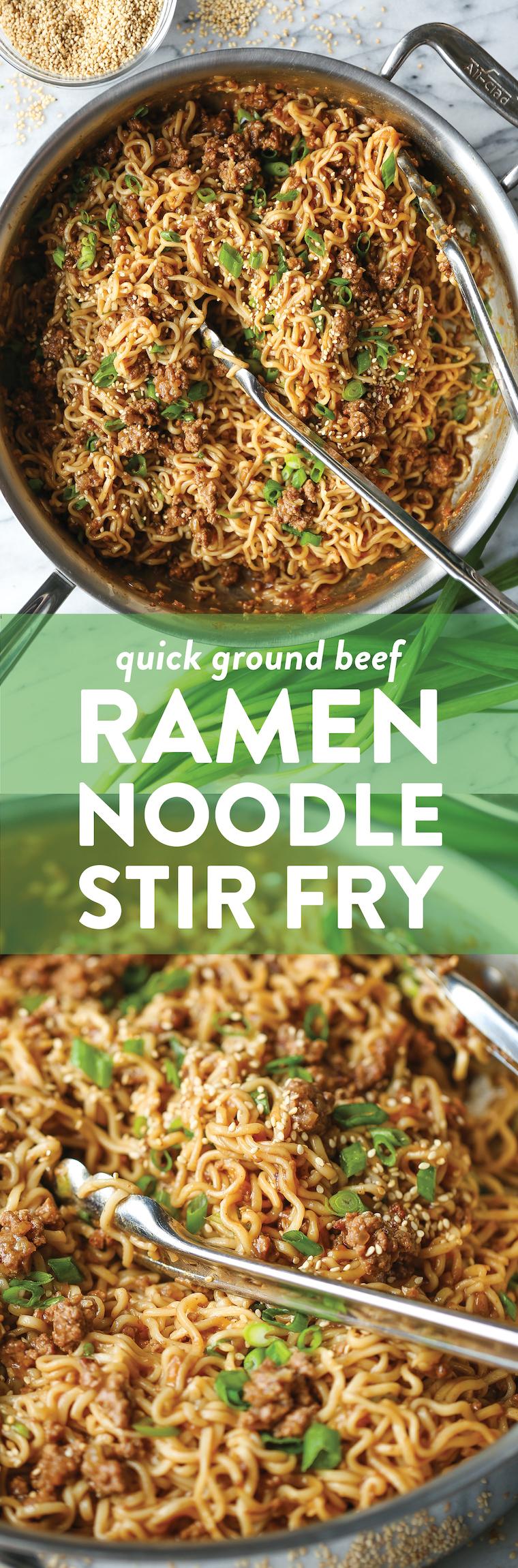 Quick Ramen Noodle Stir Fry Recipe