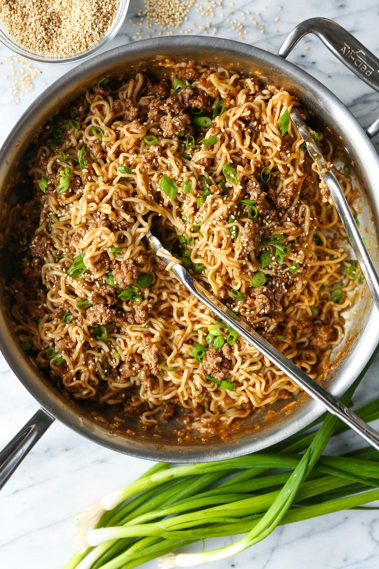 Quick Ramen Noodle Stir Fry